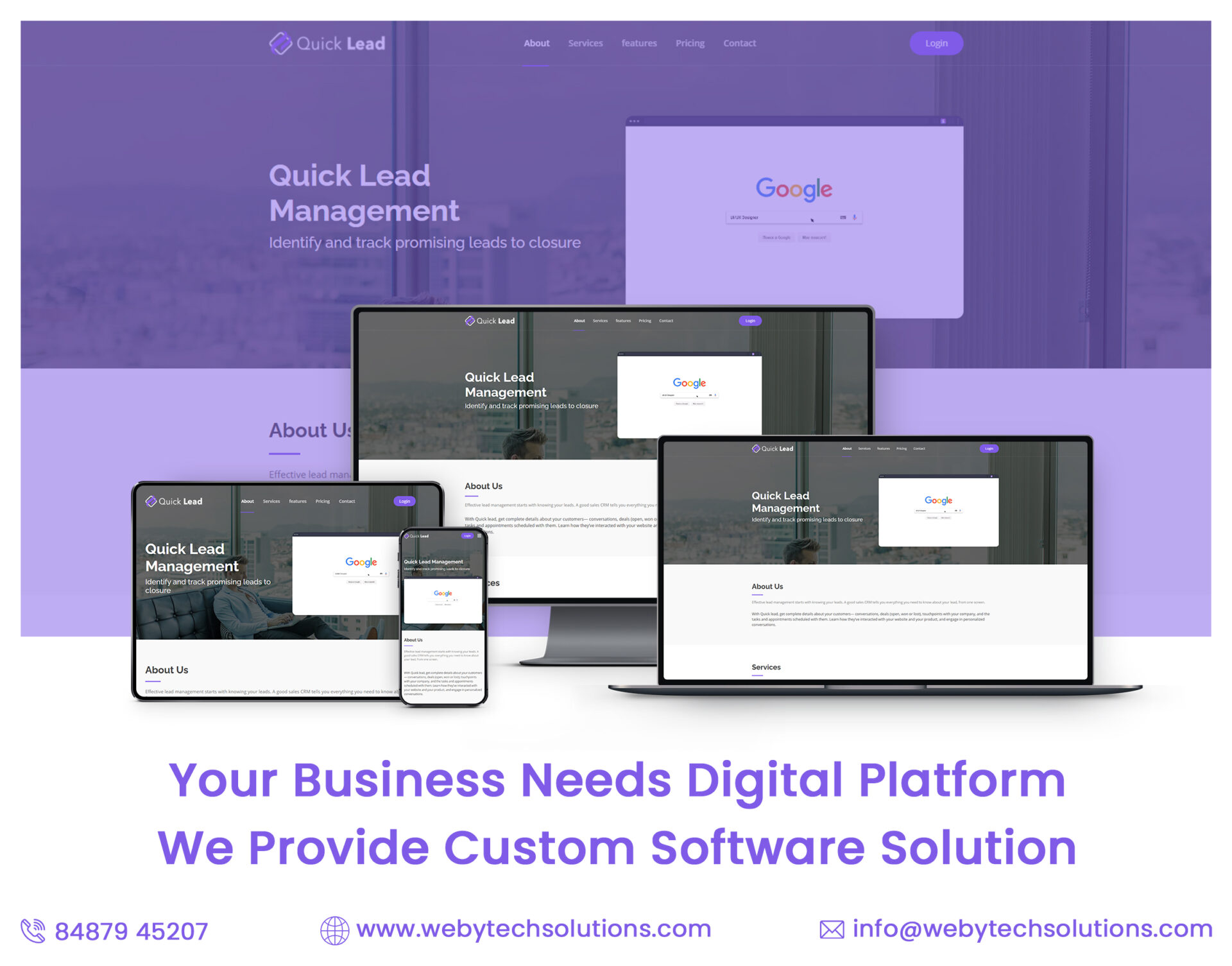 QuickLead Landing Page